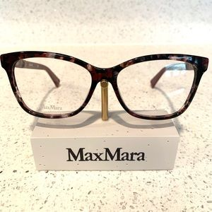 MaxMara MM1290 H8C wine/gray/tort NEW